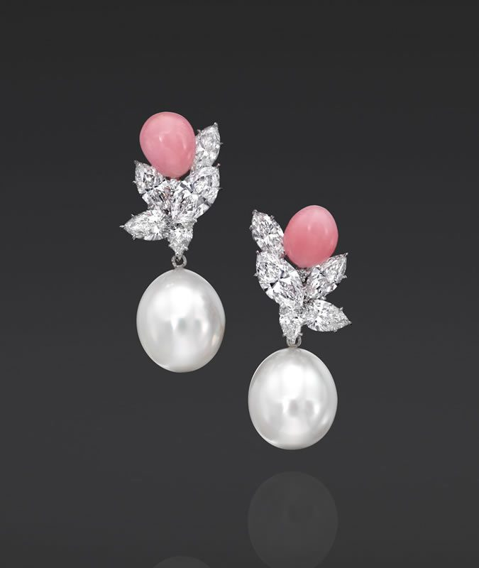 Assael Conch Pearls earrings